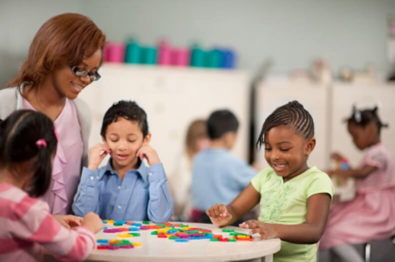 a description of a children daycare center 8351 child day care services establishments primarily engaged in the care of infants or children, or in providing prekindergarten education, where medical care or delinquency correction is not a major element.