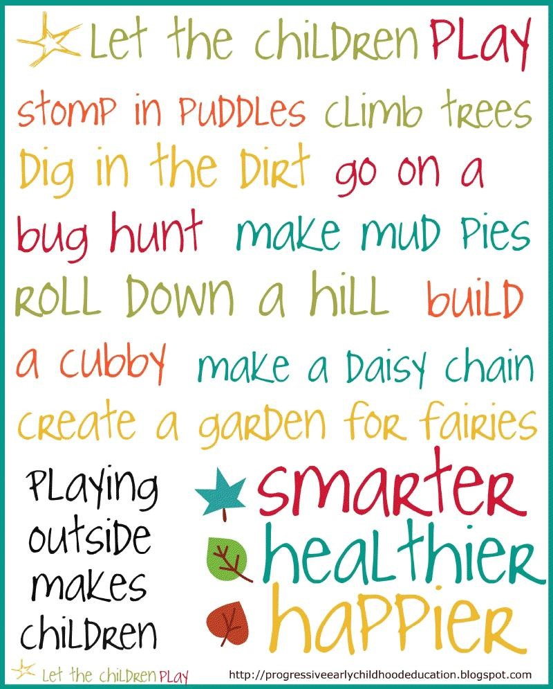 Outside Play - The Apple Tree Learning Centers